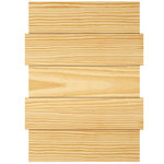 Jillibean Soup - Mix the Media Collection - Off-Set Wood Panel - 12 x 16 - Pine