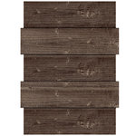Jillibean Soup - Mix the Media Collection - Off-Set Wood Panel - 12 x 16 - Rustic