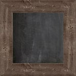 Jillibean Soup - Mix the Media Collection - 12 x 12 Wood Framed Chalkboard