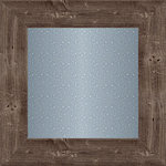 Jillibean Soup - Mix the Media Collection - 12 x 12 Wood Framed Galvanized