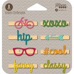 Jillibean Soup - Wood Veneer Clothespins - Fancy