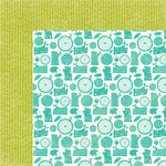 Jillibean Soup - Mushroom Medley Collection - 12 x 12 Double Sided Paper - Morels
