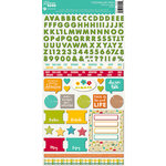Jillibean Soup - Mushroom Medley Collection - Cardstock Stickers