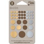 Jillibean Soup - Mushroom Medley Collection - Wood Dots