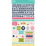 Jillibean Soup - Healthy Hello Soup Collection - Cardstock Stickers