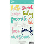 Jillibean Soup - Healthy Hello Soup Collection - Cardstock Stickers - Soup Labels