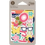 Jillibean Soup - Healthy Hello Soup Collection - Pea Pod Parts - Die Cut Cardstock Pieces - Shapes
