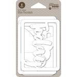 Jillibean Soup - Healthy Hello Soup Collection - Mini Place Mats - 3 x 4 Die Cut Cards