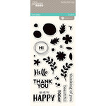 Jillibean Soup - Healthy Hello Soup Collection - Clear Acrylic Stamps