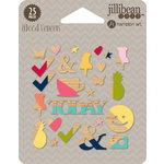 Jillibean Soup - Chit Chat Chowder Collection - Wood Veneers
