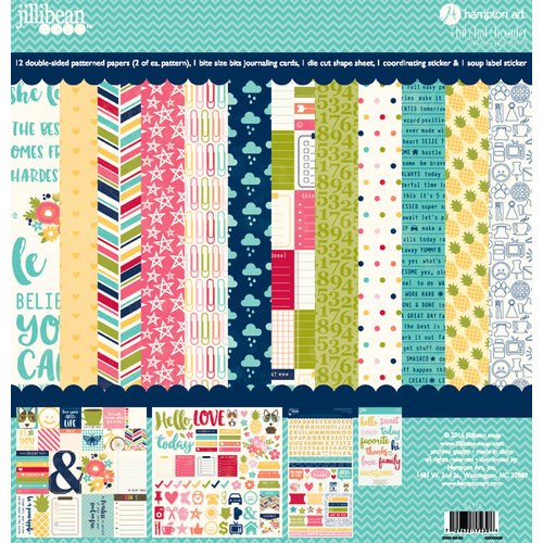 Jillibean Soup - Chit Chat Chowder Collection - 12 x 12 Collection Pack