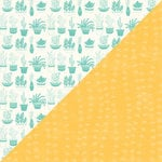 Jillibean Soup - Hardy Hodgepodge Collection - 12 x 12 Double Sided Paper - Pinch of Plants