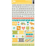 Jillibean Soup - Hardy Hodgepodge Collection - Cardstock Stickers
