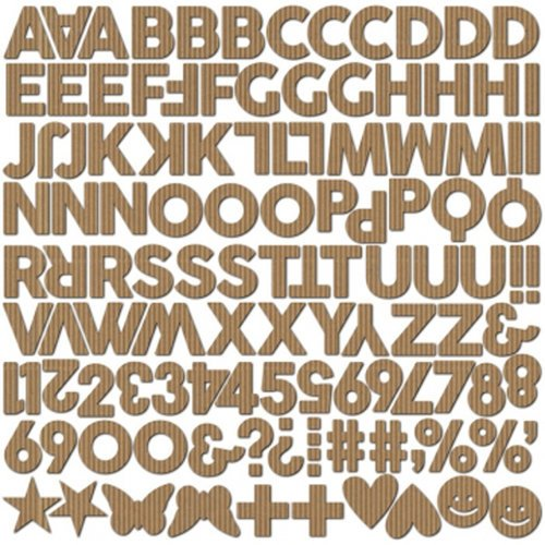 Jillibean Soup - Hardy Hodgepodge Collection - Corrugated Letters