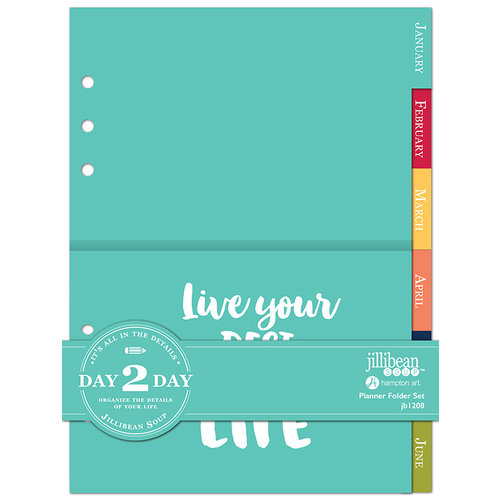 Jillibean Soup - Day 2 Day Collection - Folder Insert Set