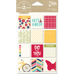 Jillibean Soup - Day 2 Day Collection - Cardstock Stickers - Enjoy Today