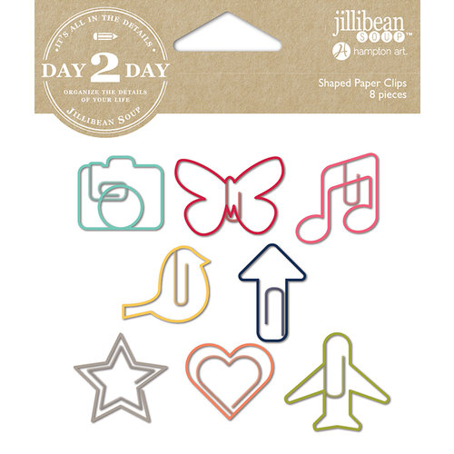 Jillibean Soup - Day 2 Day Collection - Paper Clips - Camera