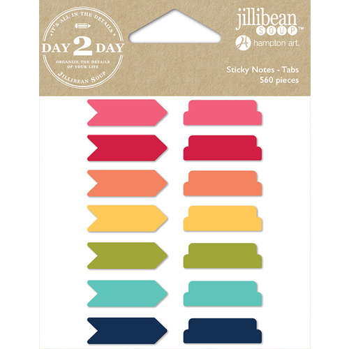 Jillibean Soup - Day 2 Day Collection - Sticky Notes - Tabs