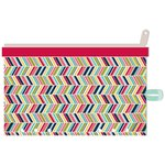 Jillibean Soup - Day 2 Day Collection - Zipper Pouch - Chevron