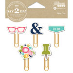 Jillibean Soup - Day 2 Day Collection - Paper Clips - Glasses