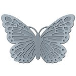 Jillibean Soup - Mix the Media Collection - Galvanized 3D Butterfly