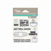 Jillibean Soup - Clear Acrylic Stamps - Get Well
