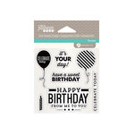 Jillibean Soup - Clear Acrylic Stamps - Birthday