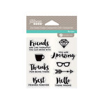 Jillibean Soup - Clear Acrylic Stamps - Friends