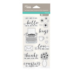 Jillibean Soup - Clear Acrylic Stamps - Just My Type