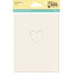 Jillibean Soup - Shaker Card Base - Small Heart