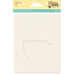 Jillibean Soup - Shaker Card - Coffee Cup