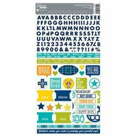 Jillibean Soup - 2 Cool for School Collection - Cardstock Stickers