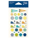 Jillibean Soup - 2 Cool for School Collection - Puffy Stickers