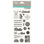 Jillibean Soup - 2 Cool for School Collection - Clear Acrylic Stamps