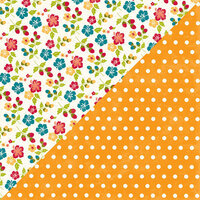 Jillibean Soup - Bohemian Brew Collection - 12 x 12 Double Sided Paper - Calm
