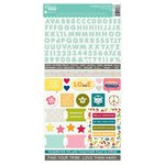 Jillibean Soup - Bohemian Brew Collection - Cardstock Stickers