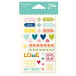 Jillibean Soup - Bohemian Brew Collection - Puffy Stickers