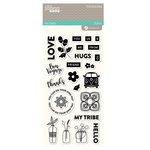 Jillibean Soup - Bohemian Brew Collection - Clear Acrylic Stamps