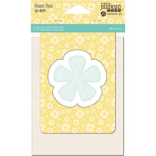 Jillibean Soup - Shaker Card Set - Flower