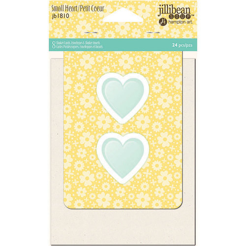 Jillibean Soup - Shaker Card Set - Small Heart