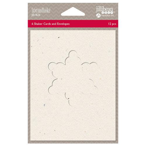 Jillibean Soup - Christmas - Shaker Card - Snowflake