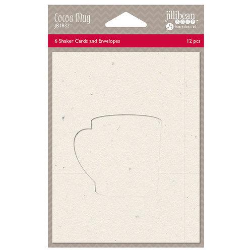 Jillibean Soup - Christmas - Shaker Card - Cocoa Mug