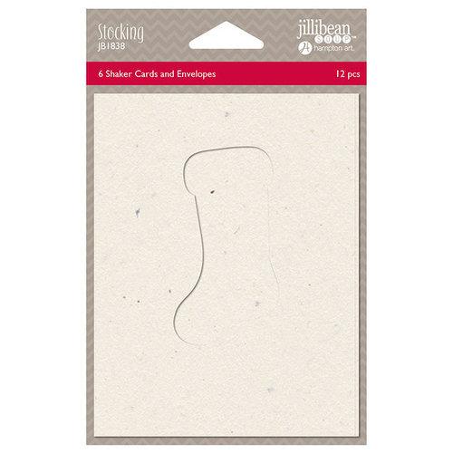 Jillibean Soup - Christmas - Shaker Card - Stocking