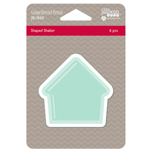 Jillibean Soup - Christmas - Shape Shaker - Gingerbread House