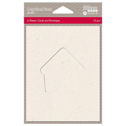 Jillibean Soup - Christmas - Shaker Card - Gingerbread House