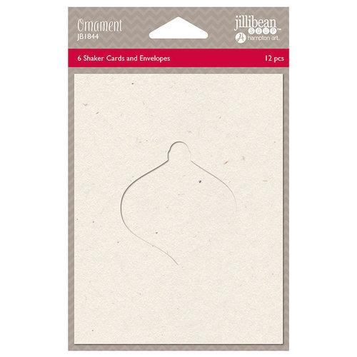Jillibean Soup - Christmas - Shaker Card - Ornament