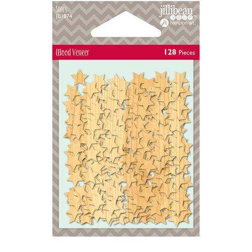 Jillibean Soup - Shaker Fill - Wood Veneer Stars