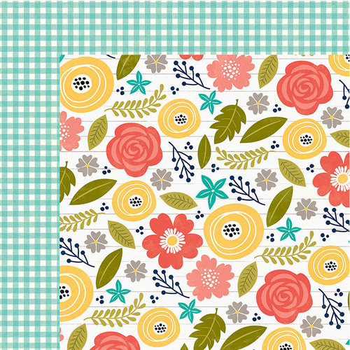 Jillibean Soup - Garden Harvest Collection - 12 x 12 Double-Sided Paper - Plant The Seeds