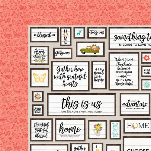 Jillibean Soup - Garden Harvest Collection - 12 x 12 Double-Sided Paper - Plow The Field
