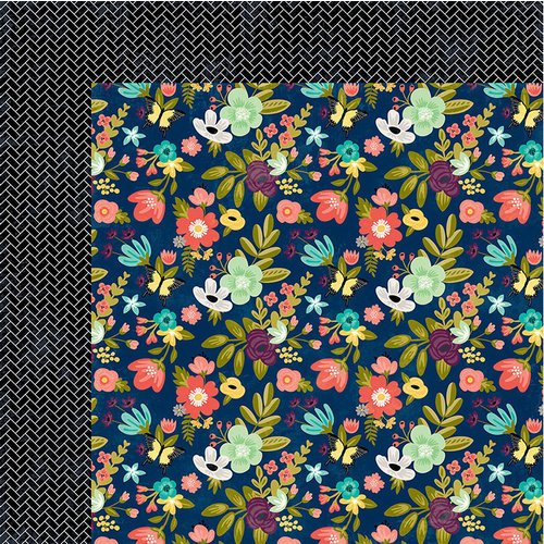 Jillibean Soup - Garden Harvest Collection - 12 x 12 Double-Sided Paper - Water The Goods